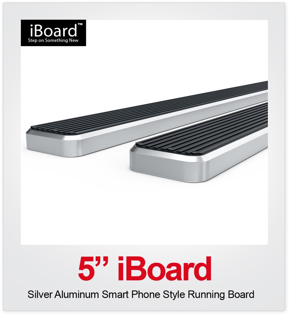 """5"""" IBoard Running Board Fit 07-18 Silverado/Sierra Regular"""